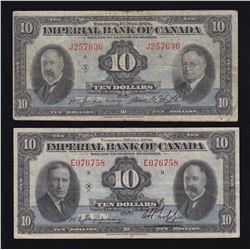 Imperial Bank of Canada - Lot of 2