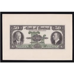 Bank of Montreal $50, 1931