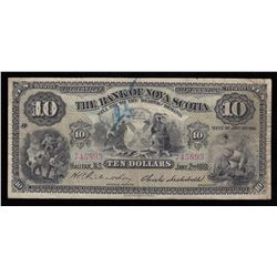 Bank of Nova Scotia $10, 1919