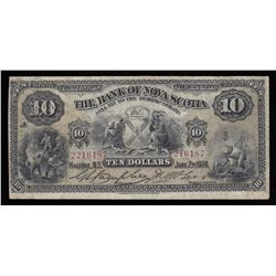 Bank of Nova Scotia $10, 1924