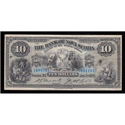 Bank of Nova Scotia $10, 1929