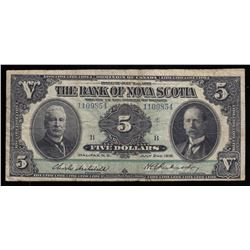 Bank of Nova Scotia $5, 1918