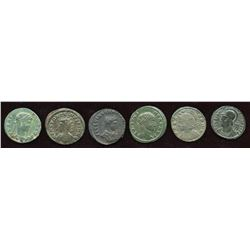 Mixed 4th Century Group. Lot of 6