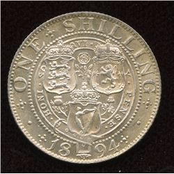 Great Britain. One Shilling, 1894