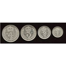 Great Britain. George VI 1936-1952. Maundy Set.