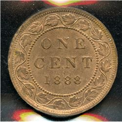 1888 One Cent
