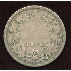 1875H Twenty-Five Cents