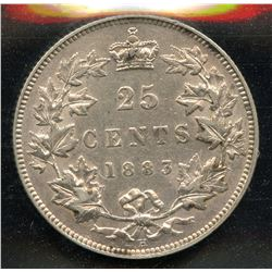 1883H Twenty-Five Cents