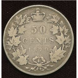 1870 Fifty Cents