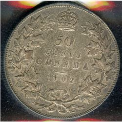 1902 Fifty Cents