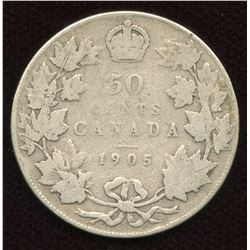 1905 Fifty Cents
