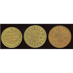 Ontario Tokens. Lot of 3