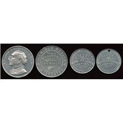Banfield Medals. Lot of 4