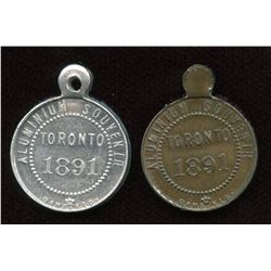 Banfield Medals. Lot of 2