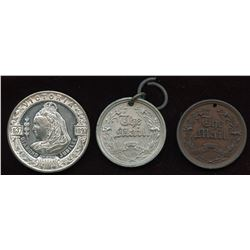Royalty Medals. Lot of 3