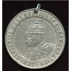 Dominion of Canada 1867-1917 Medal.