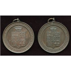 English School Competition Medals. Lot of 2
