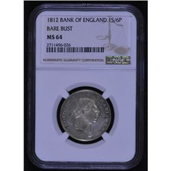 Great Britain - George III Bank of England1S/6P, 1812