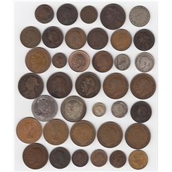 Great Britain Lot of 38 Coins & Tokens