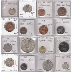 Great Britain Collection of 27 Coins