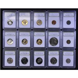 USA - Lot of 56 Various Coins