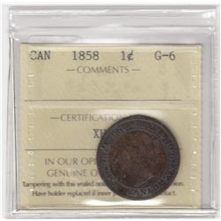 Canada 1858 One Cent