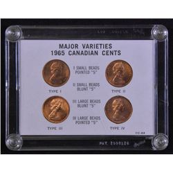 Canada 1965 One Cent Variety Collection