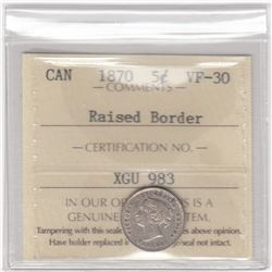 Canada 1870 Five Cents