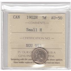 Canada 1902H Five Cents