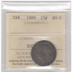 Canada 1889 Twenty-Five Cents