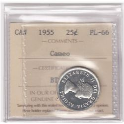 Canada 1955 Twenty-Five Cents