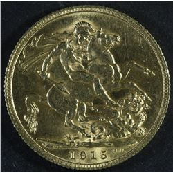 Great Britain Sovereign, 1915