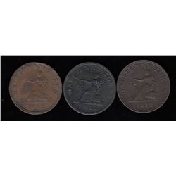 Tiffin Tokens - Lot of 3