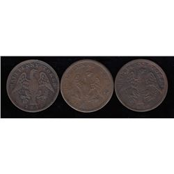 Lower Canada Tokens - Lot of 3