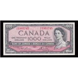 Bank of Canada $1000, 1954