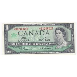 Bank of Canada, 1954  $10 & 1967 $1 replacement notes