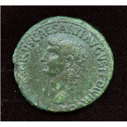 Germanicus, struck under Caligula (37/38 AD). AE As