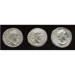 Severan Dynasty - Lot of 3