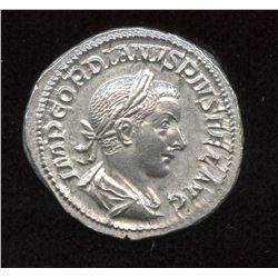 Gordian III. 238-244 AD. AR Denarius
