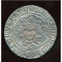 Great Britain, Henry VI. First Reign, 1422-1461. AR Groat