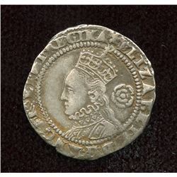 Great Britain, Elizabeth I. 1558-1603. AR Threepence