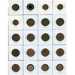 British India - Lot of 40 Coins