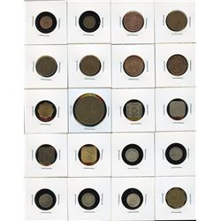 Ceylon - Lot of 20 Coins