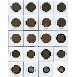 Straits Settlements - Lot of 66 Coins