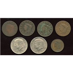 Lot of USA Coins - Lot of 7