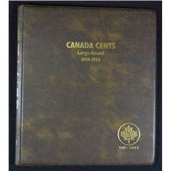 Canada Large Cent Collection