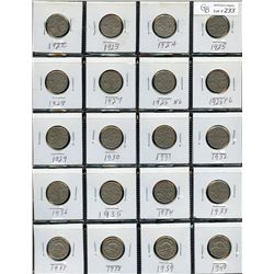 Lot of 114 Five Cents
