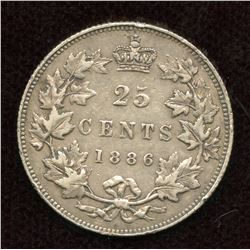 1886 Twenty-Five Cents