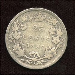 1887 Twenty-Five Cents