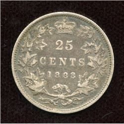 1888 Twenty-Five Cents